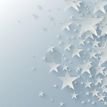 Fondo vectorial con flechas de papel
