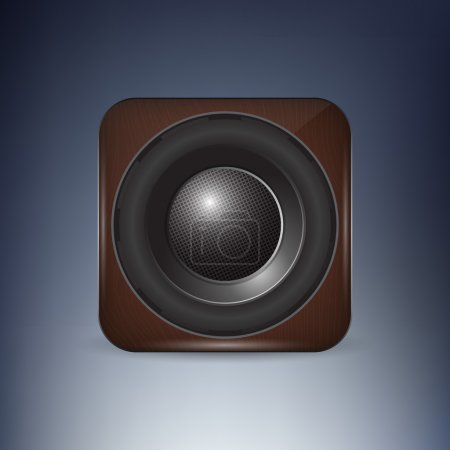 Sound loud speaker icon vector illustration