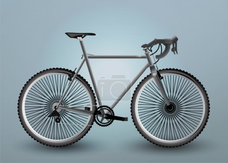 Illustration for Vector Bicycle Illustration, vector  illustration - Royalty Free Image