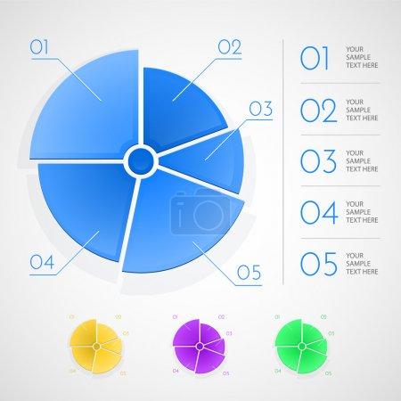 Illustration pour Éléments d'infographie. illustration vectorielle - image libre de droit