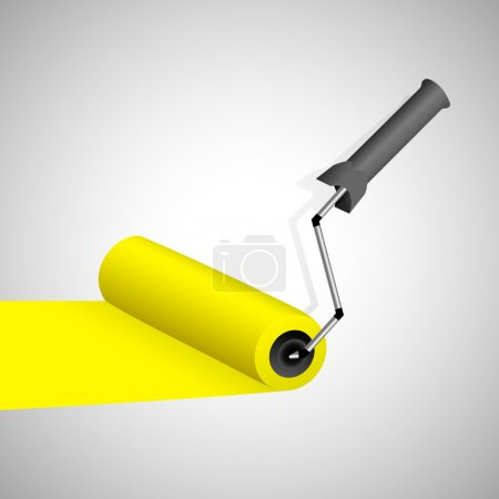 Illustration for Paint roller. Vector illustration. - Royalty Free Image