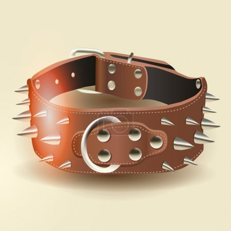 Vector bangle with spikes
