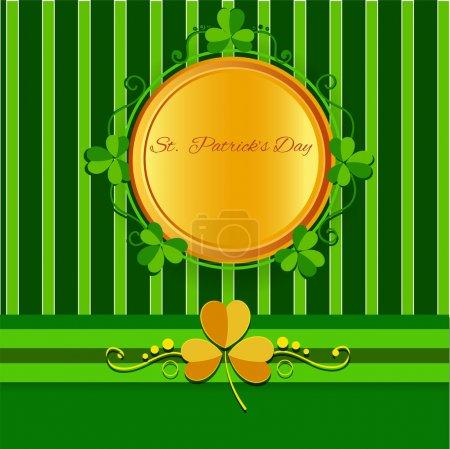 Illustration pour St patricks jour fond. - image libre de droit