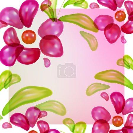 Illustration pour Fond brillant abstrait. Illustration vectorielle. - image libre de droit