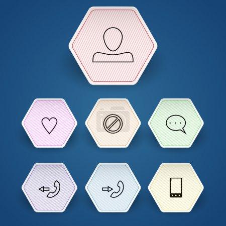Media & Communication vector Icons