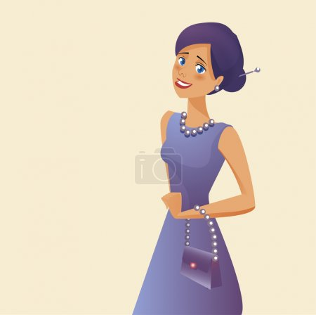 Photo for Vector illustration of woman - Royalty Free Image