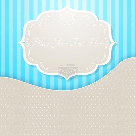 Illustration pour Cadre vectoriel vintage, illustration vectorielle - image libre de droit