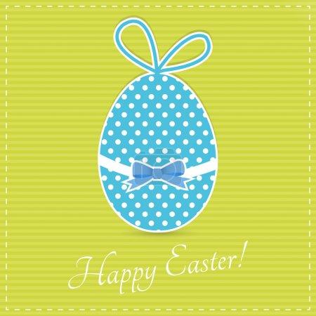 Illustration pour Bonne carte de Pâques, illustration vectorielle - image libre de droit