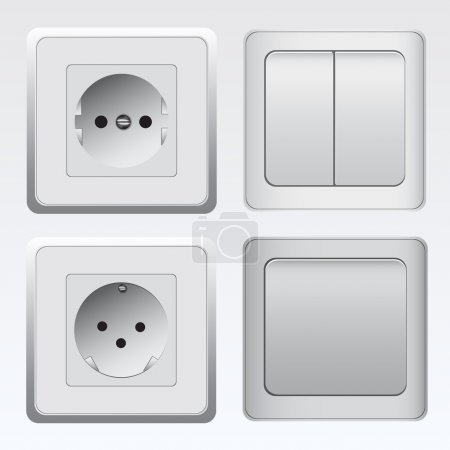 Switches and sockets set