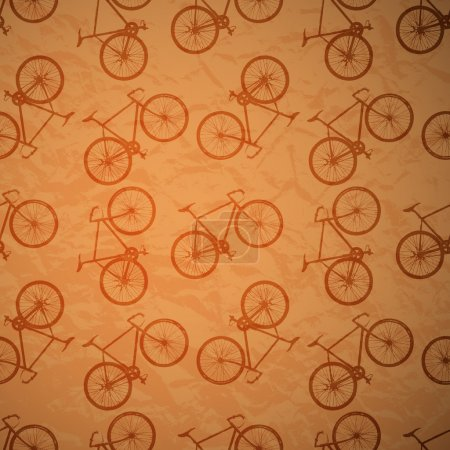retro bike background,  vector illustration