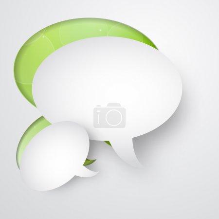 Illustration pour Bulles de parole vectorielles, illustration vectorielle - image libre de droit