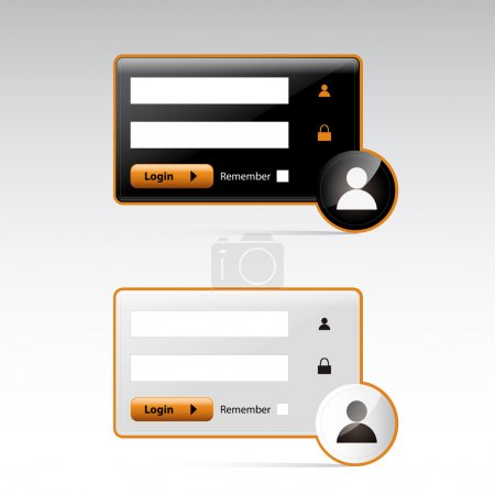 Photo for User Login -   vector illustration - Royalty Free Image