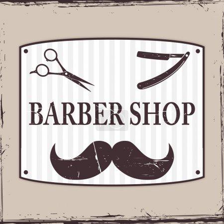 Barber Shop or Hairdresser icons
