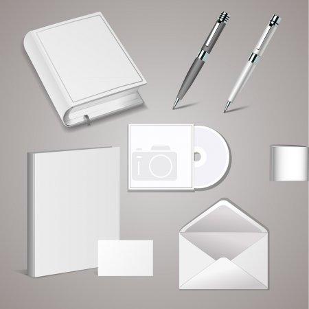 Set of templates corporate identity.