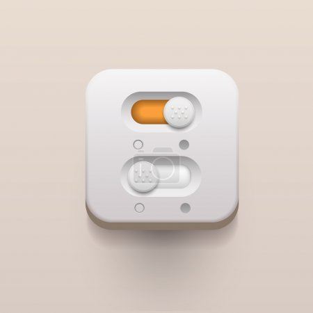 on and off switch buttons