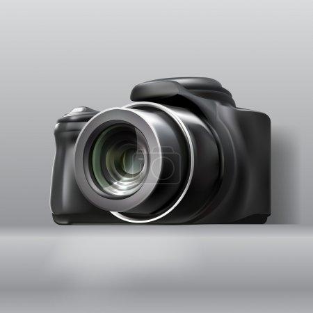 Digital photo camera, vector design