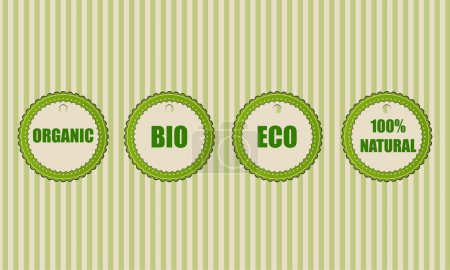 Eco vector icons,  vector illustration