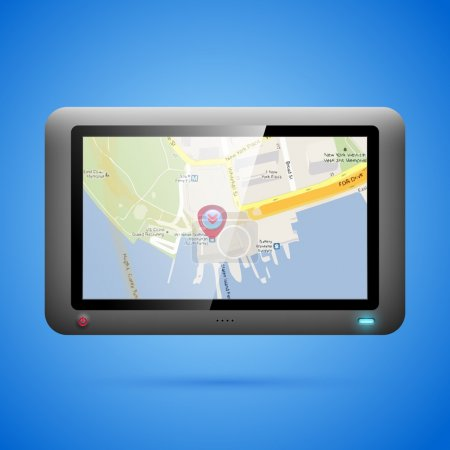 GPS navigation concept. Vector