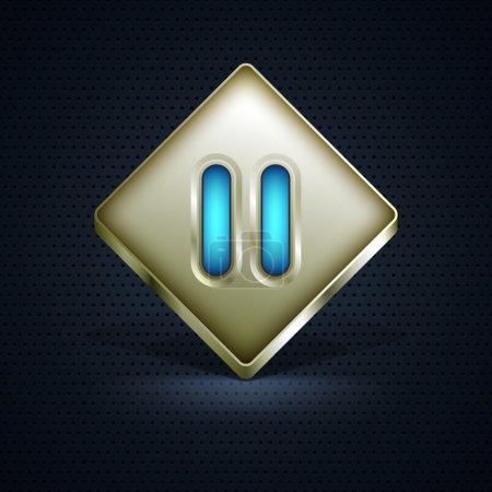Illustration pour Icône du site Web. Illustration vectorielle - image libre de droit