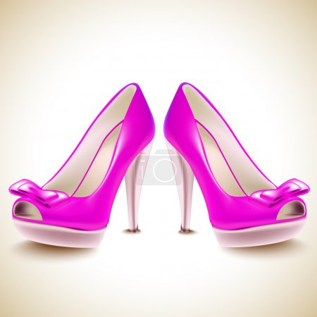 Shoes icon. Vector illustration