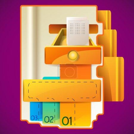Illustration for Modern Design template design - Royalty Free Image