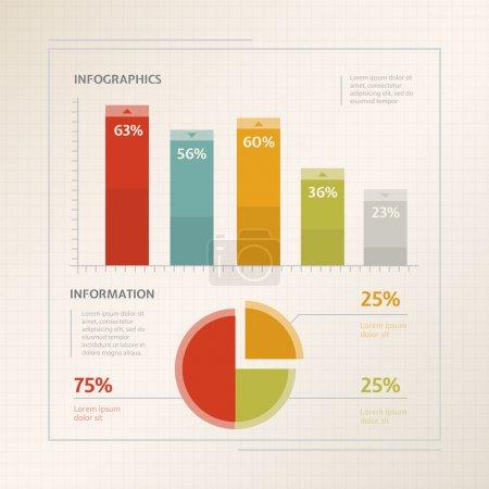 Illustration pour Illustration vectorielle infographique détaillée - image libre de droit