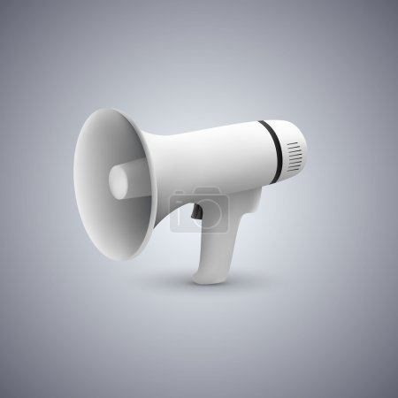 Megaphone icon  vector illustration