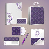 Professional corporate identity kit