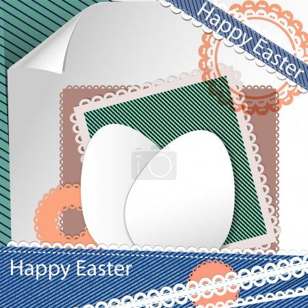 Wielkanoc złom rezerwacji, projekt wektor