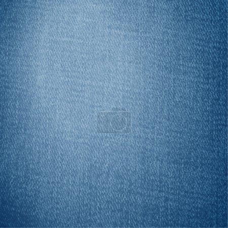 Illustration pour Texture du jean, fond vectoriel . - image libre de droit