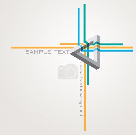 Illustration pour Fond abstrait. illustration vectorielle - image libre de droit