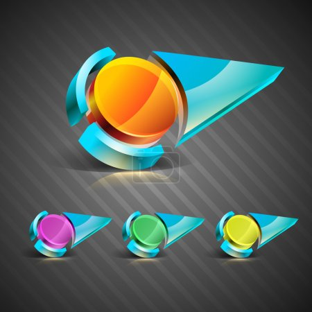 abstract Vector icons, signs