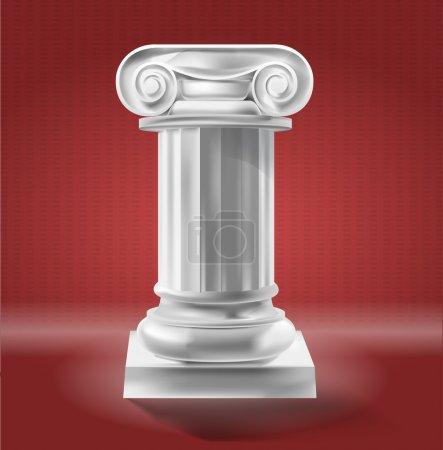 Ancient Column  vector illustration
