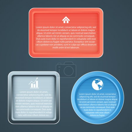 Vector icons,  vector illustration