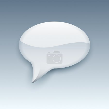 Illustration for Speech bubble vector illustration - Royalty Free Image