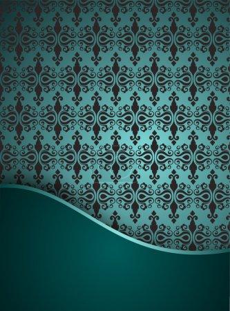 Illustration for Vintage seamless pattern. vector  illustration - Royalty Free Image