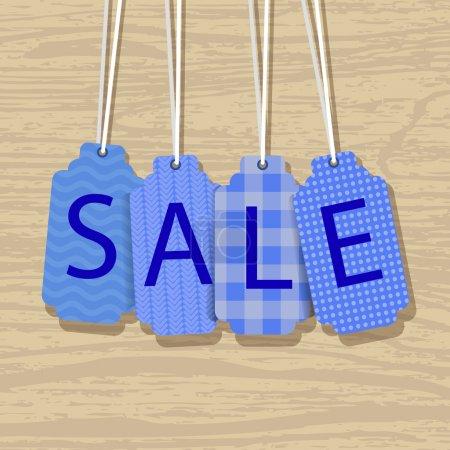 Illustration for Sale labels vector  illustration - Royalty Free Image