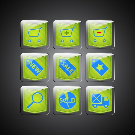Sale icons. Vector vector  illustration