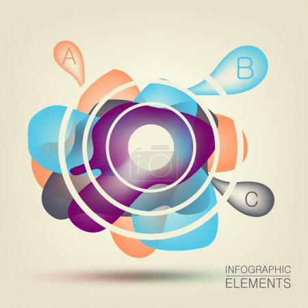 Illustration for Abstract background for design - Royalty Free Image