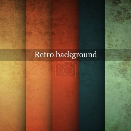 Grungy retro background. Vector illustration.