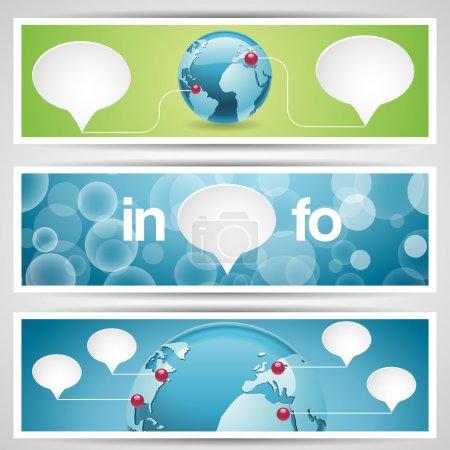 Photo pour Monde globe, icône du réseau . - image libre de droit