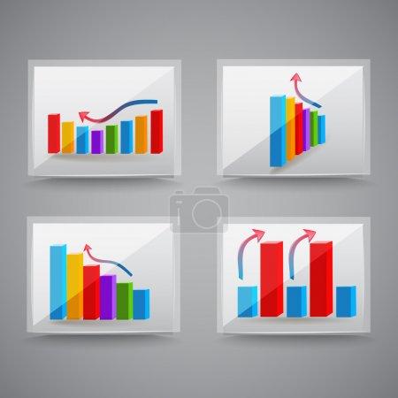 Success graphics. Vector Illustration