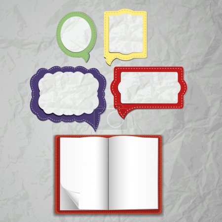 Set of bubble style notepads