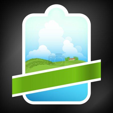 Illustration for Tree logo for various brands. Vector illustration - Royalty Free Image