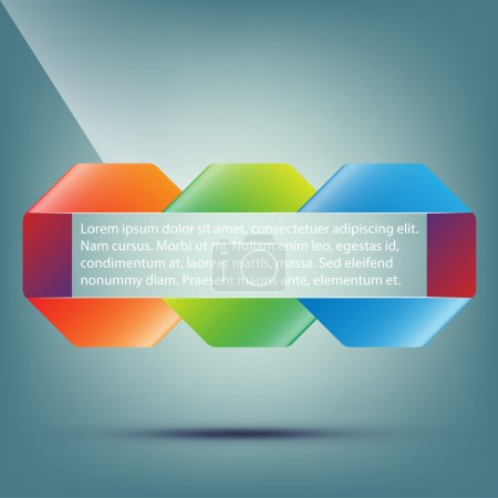 Illustration for Abstract background for design vector illustration - Royalty Free Image