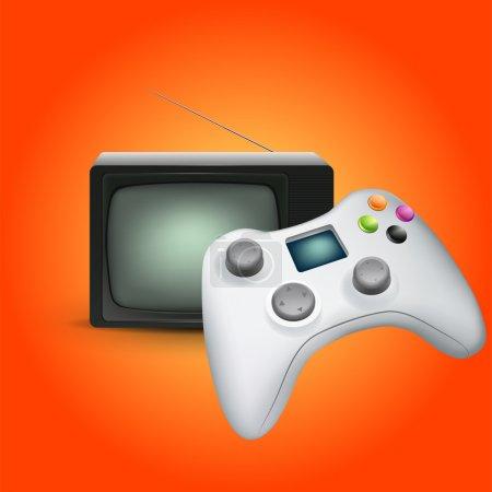 game gadget vector illustration