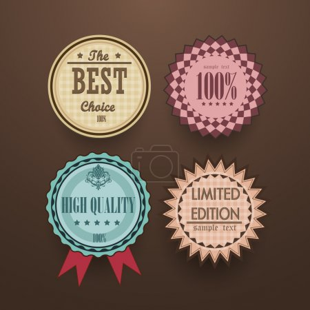 Collection of Vintage High Quality labels