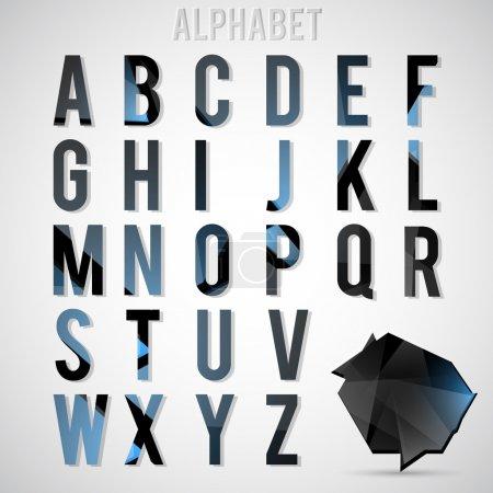 Illustration pour Alphabet set illustration vectorielle - image libre de droit