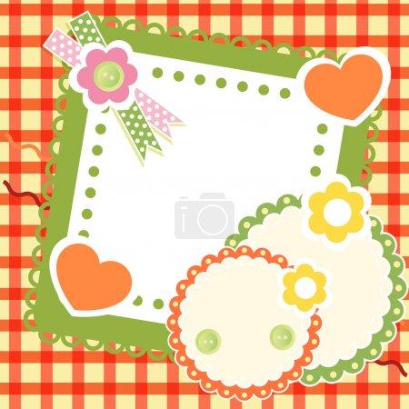 Illustration pour Conception vectorielle de fond floral - image libre de droit