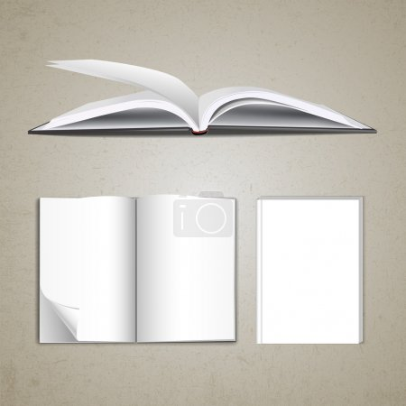 Blank pages inside of notebook
